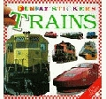 Sticker Book - FunFax Stickers Trains - DK Books - Product Image