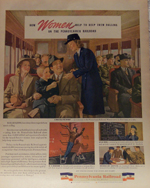 Advertisement - Women Keep RR Running 1944 - Product Image