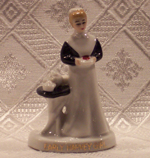 Early Harvey Girl Porcelain Figurine - Product Image