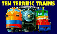 Ten Terrific Trains (Pop-up Book) - Product Image